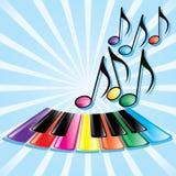 Tema di musica Fotografie Stock