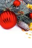 Tema di Natale Fotografia Stock