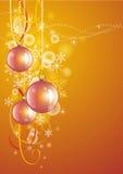 Tema di nuovo anno Immagine Stock Libera da Diritti