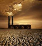 Tema do aquecimento global Imagem de Stock Royalty Free