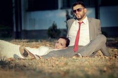 Tema do casamento Fotos de Stock Royalty Free