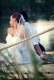Tema do casamento foto de stock royalty free