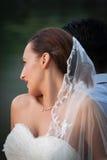 Tema do casamento fotografia de stock
