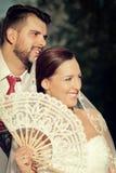 Tema do casamento imagens de stock