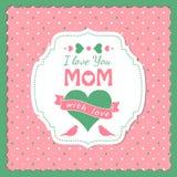 Tema do dia de mães Foto de Stock