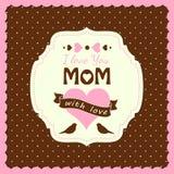 Tema do dia de mães Fotos de Stock