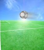 Tema do futebol ou do futebol ilustração do vetor