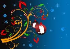 Tema do Natal Imagem de Stock Royalty Free