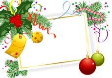 Tema do Natal Foto de Stock