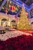 Tema do Natal no Bellagio Fotos de Stock Royalty Free