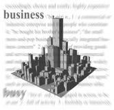 Tema do negócio ilustração do vetor