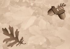 Tema do outono Ilustração Stock