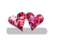 Tema do Valentim para amantes Foto de Stock