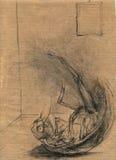 tema för 4 Franz Kafka Arkivfoto
