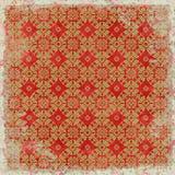 Tema floral de la Navidad del fondo de la vendimia Imágenes de archivo libres de regalías