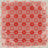 Tema floral de la Navidad del fondo de la vendimia Foto de archivo libre de regalías