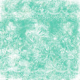 Tema floral de la Navidad del fondo de la vendimia imagen de archivo libre de regalías
