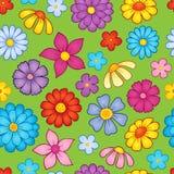 Tema inconsútil 9 de la flor del fondo Fotografía de archivo libre de regalías