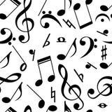Tema inconsútil de la música Imagen de archivo libre de regalías