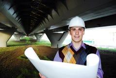 Tema industriale: architetto. Immagine Stock