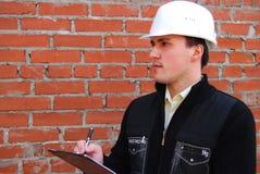 Tema industriale: architetto. Immagine Stock Libera da Diritti
