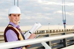Tema industriale: architetto. Fotografia Stock Libera da Diritti