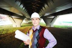 Tema industriale: architetto. Fotografia Stock
