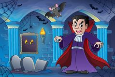 Tema interior frecuentado 3 del castillo libre illustration