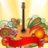 Tema lunático da música ilustração royalty free