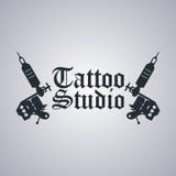 Tema a macchina del tatuaggio Fotografia Stock