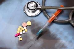 Tema medico Immagine Stock