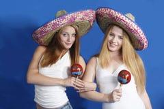 Tema messicano Fotografia Stock Libera da Diritti