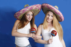 Tema mexicano Foto de Stock Royalty Free