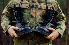 Tema militar Imagens de Stock