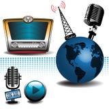 Tema radiofonico Fotografia Stock