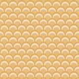 Tema retro da laranja do teste padrão do círculo Fotografia de Stock