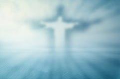 Tema sonhador de Jesus Fotografia de Stock Royalty Free