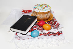 Tema tradicional de Pascua Fotos de archivo libres de regalías