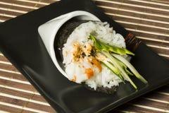 Temaki ebi sushi Royalty Free Stock Photo