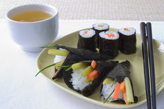 Temaki Sushi Royalty Free Stock Photos