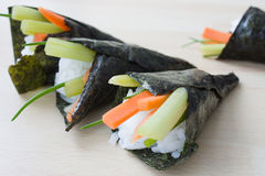 Temaki Sushi Royalty Free Stock Images