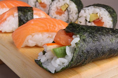 Temaki sushi Royalty Free Stock Photo