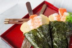 Temaki sushi cone Stock Photo
