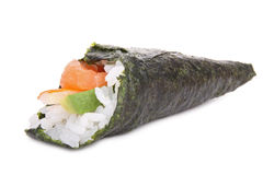 Temaki sushi isolated Royalty Free Stock Photo