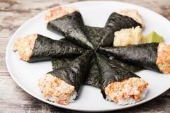 Temaki sushi Royalty Free Stock Photography