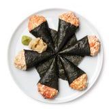 Temaki sushi Royalty Free Stock Images