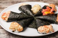 Temaki sushi Stock Photo