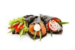 Temaki sushi set Stock Photography