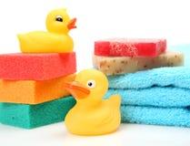 Temas para baños Imagen de archivo libre de regalías