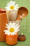 Temas para una ducha Imagen de archivo libre de regalías